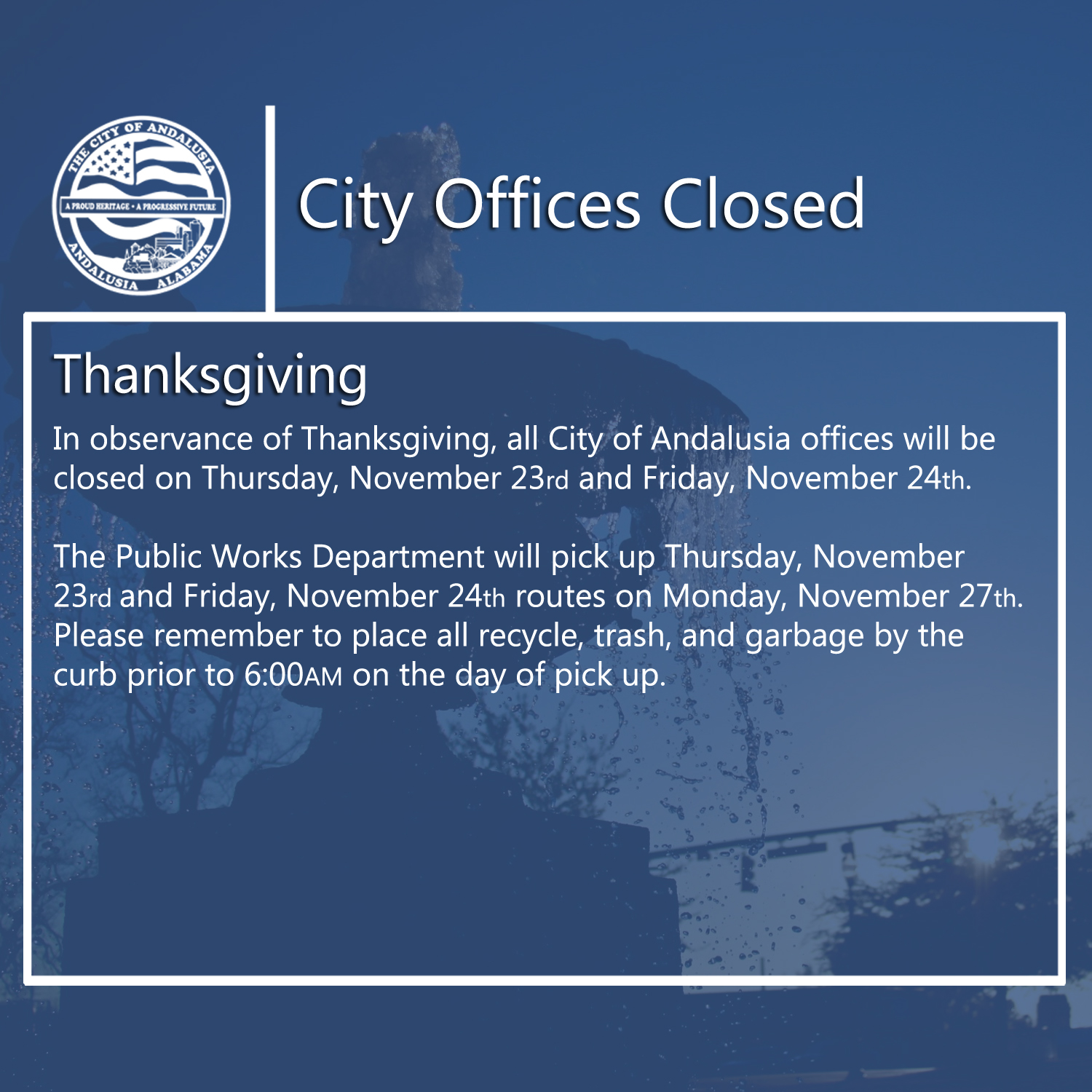 Facebook - City Offices ClosedThanksgiving.jpg